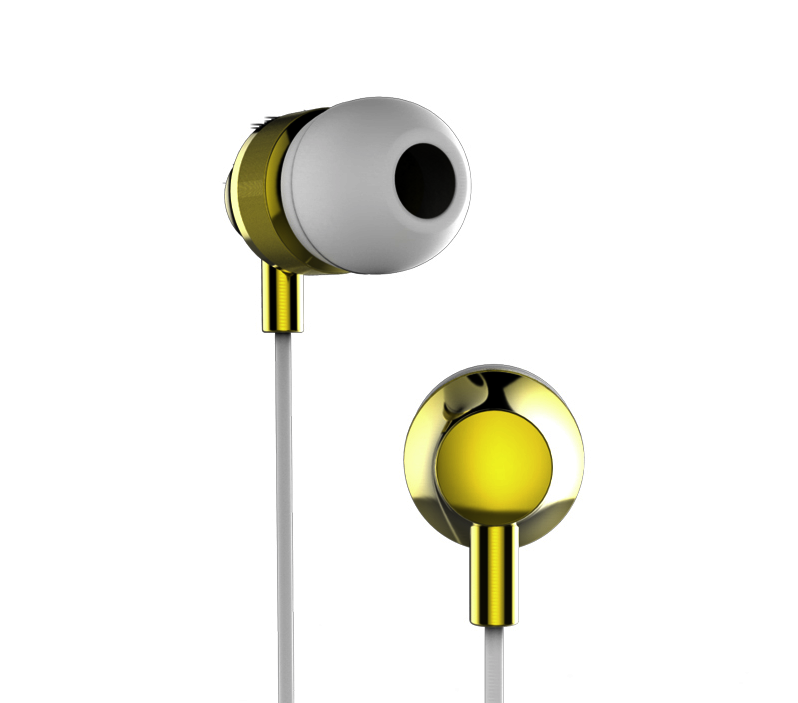 Super Bass In-Ear Volume Control Earphones With Mic