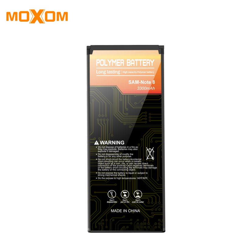 3300mah Instead of Batteries For Samsung NOTE 8 Mobile Phone Battery