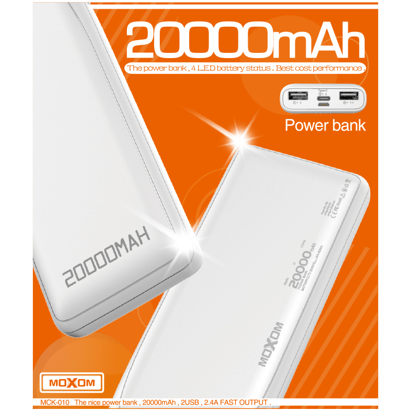 Mobile Powerbank 20000mah Universal Battery Charger